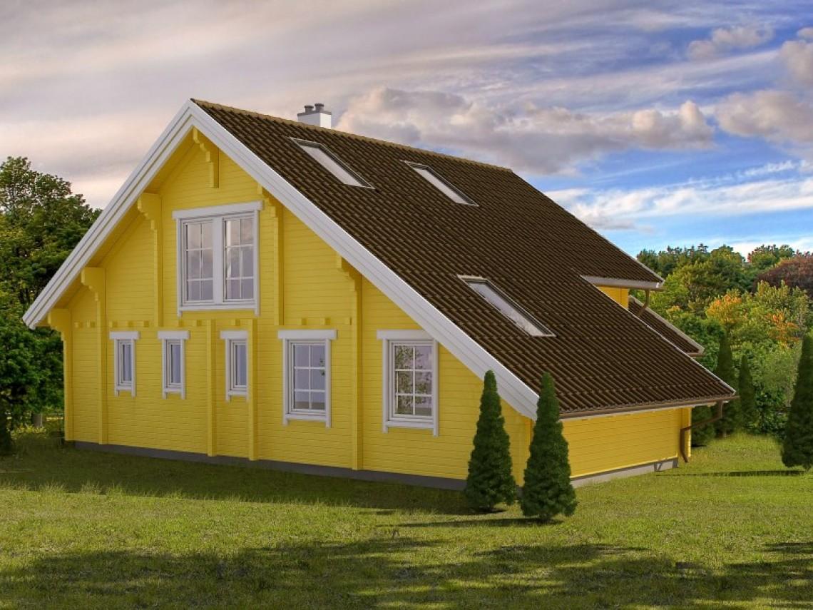 Log home plan - Perles 193
